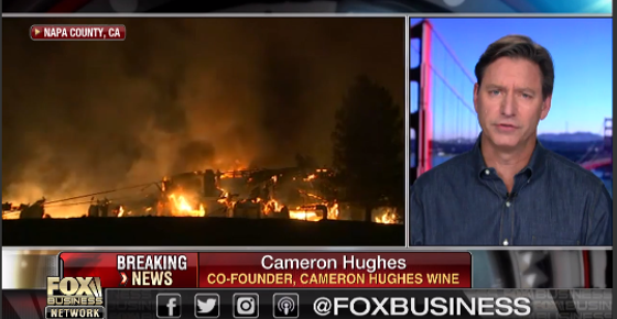 Cameron Interviewed on Fox Business about the Napa/Sonoma Fires